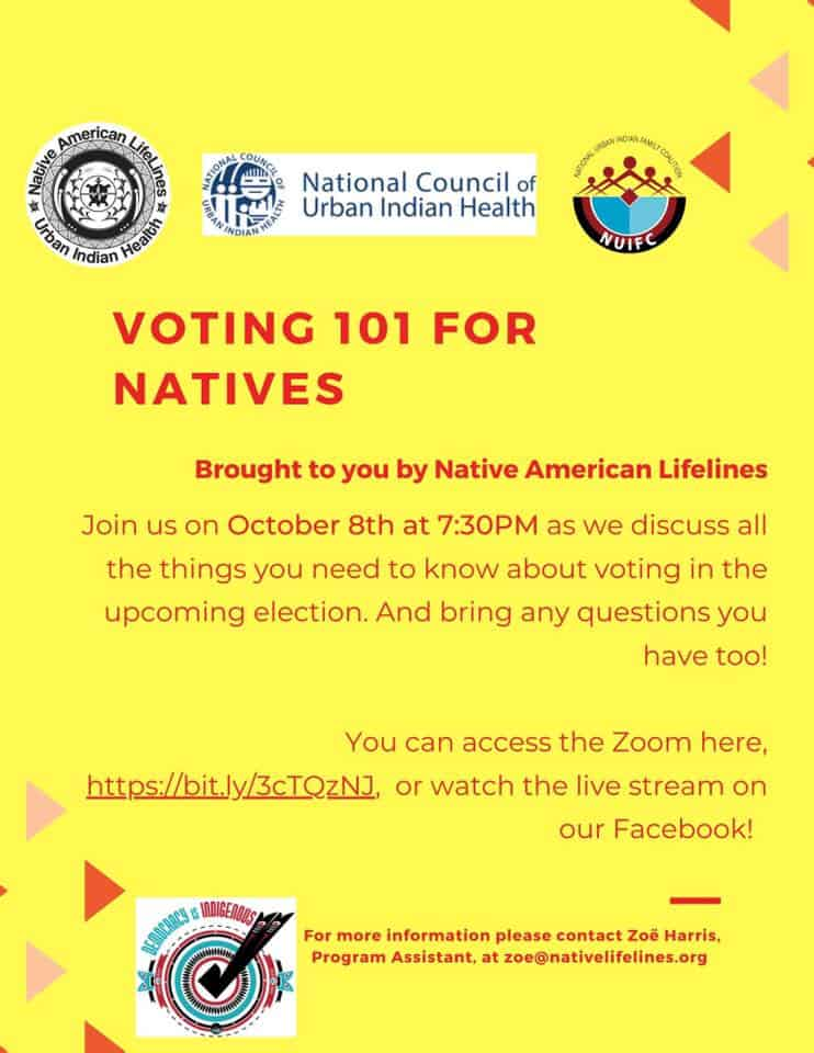 Voting 101 for Natives